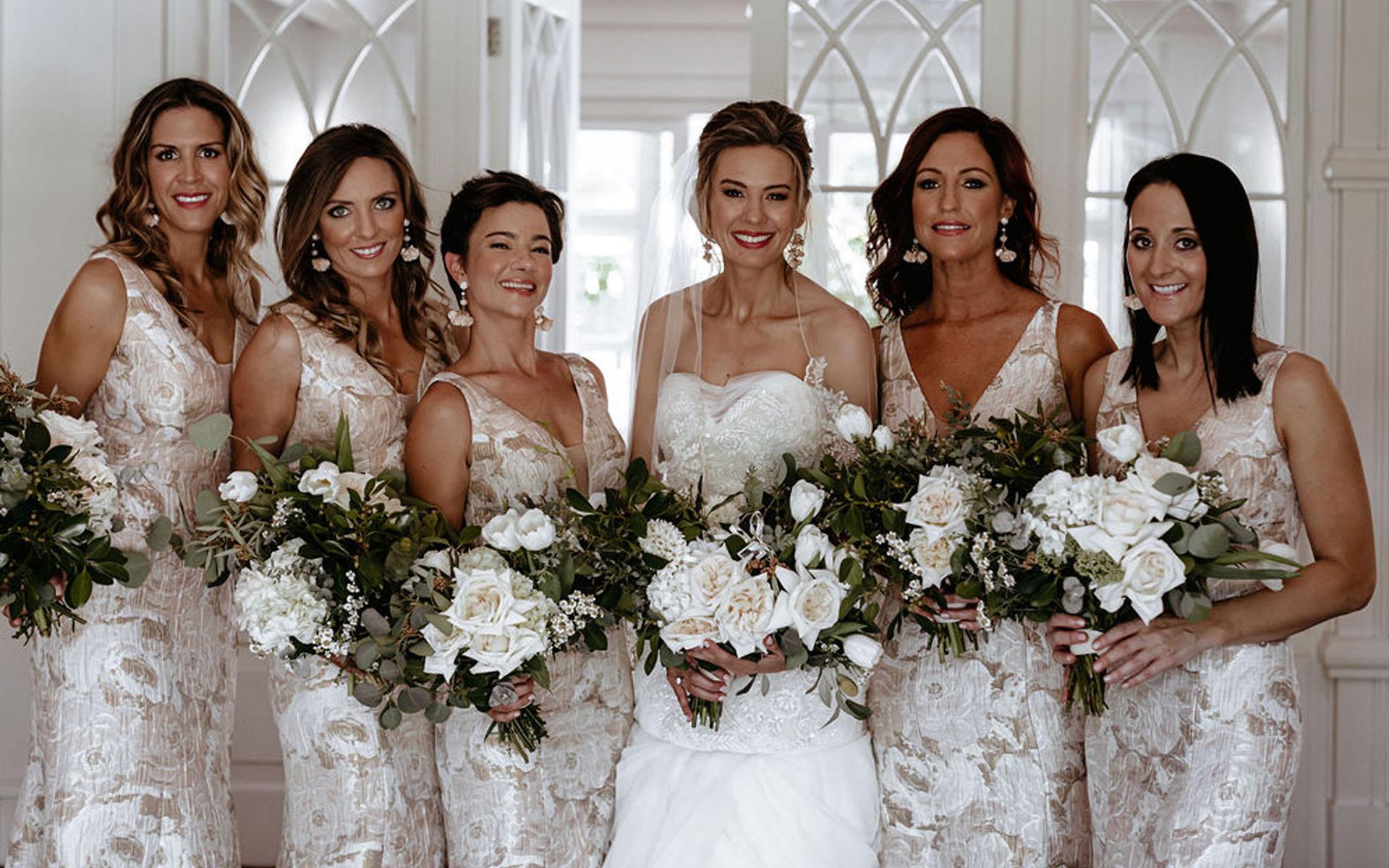 brides bridal hair and make up